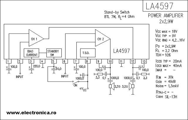 catalog de circuite integrate audio