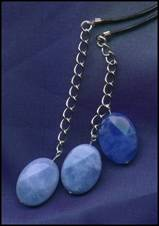 blue quartz dangles