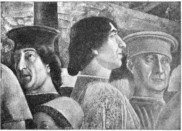FIG. 33.�MANTEGNA. GONZAGA FAMILY GROUP (DETAIL).