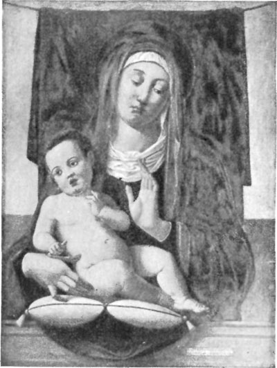 FIG. 34.�B. VIVARINI. MADONNA AND CHILD. TURIN.
