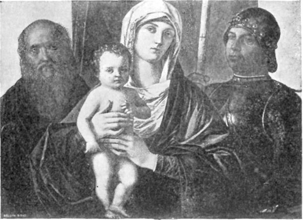 FIG. 35.�GIOVANNI BELLINI. MADONNA OF SS. GEORGE AND