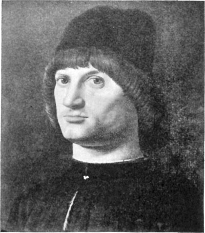 FIG. 37.�ANTONELLO DA MESSINA. UNKNOWN MAN. LOUVRE.