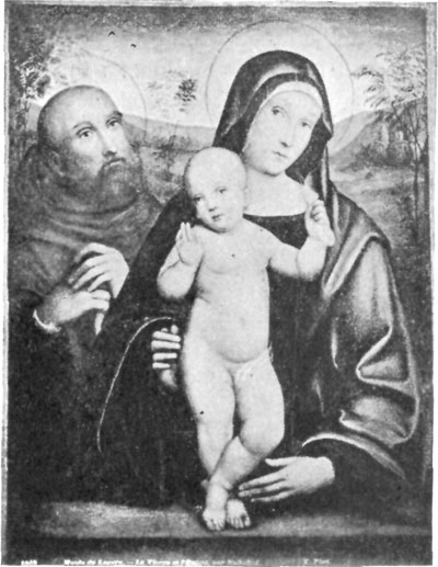 FIG. 32.�SCHOOL OF FRANCIA. MADONNA AND CHILD.