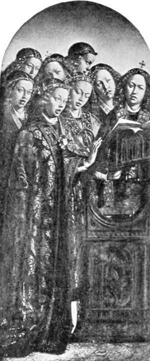 FIG. 74.�VAN EYCKS. ST. BAVON ALTAR-PIECE (WING).