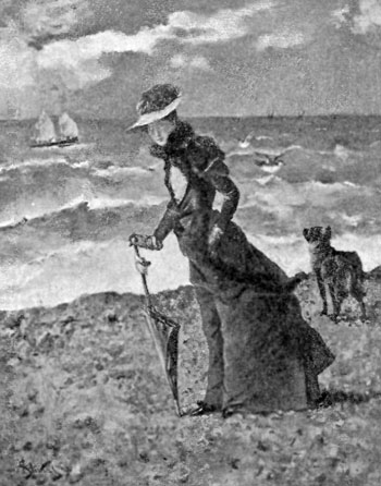 FIG. 80.�ALFRED STEVENS. ON THE BEACH.
