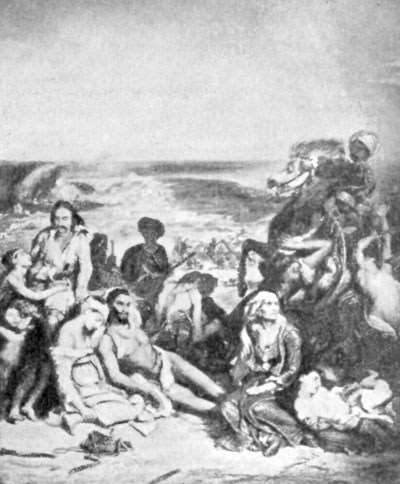 FIG. 62.�DELACROIX. MASSACRE OF SCIO. LOUVRE.