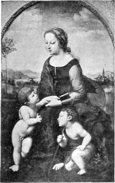 FIG. 41.�RAPHAEL. LA BELLE JARDINI�RE. LOUVRE.