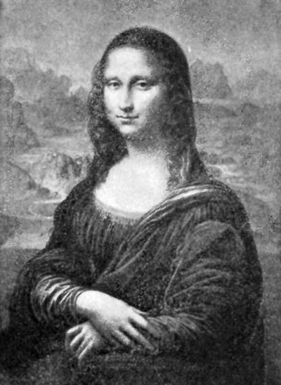 Contour Line Drawing Of Mona Lisa : Italian painting the high renaissance